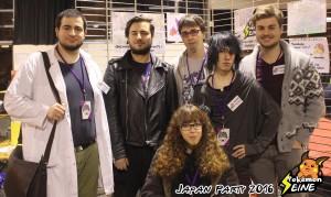 Regardez notre belle équipe, elle vaut au moins celle des Avengers !