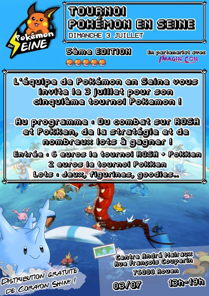Pokémon en Seine 5